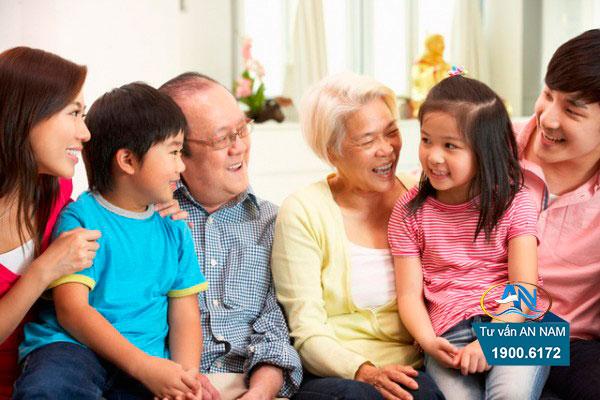 cách thể hiện tình cảm với cha mẹ