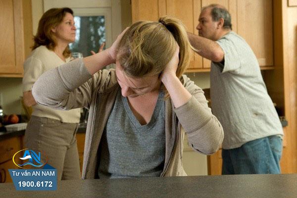 sự ngăn cản của gia đình