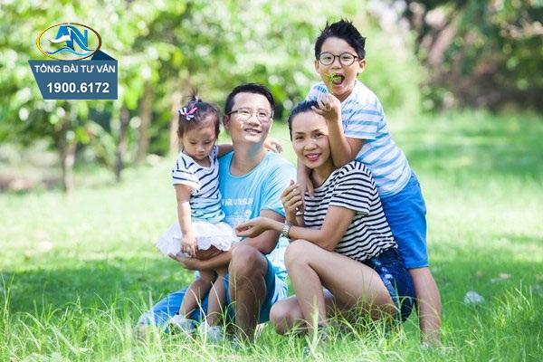 gia đình mãi hạnh phúc
