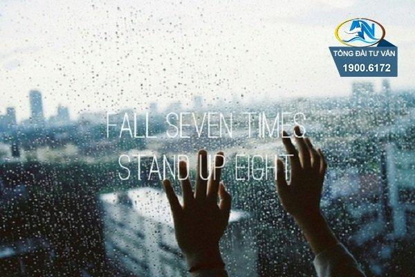 đừng từ bỏ vì vấp ngã