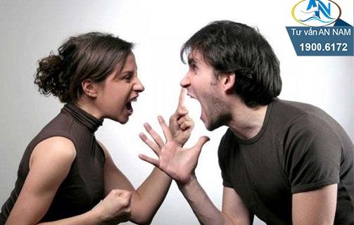 cãi vã nhau